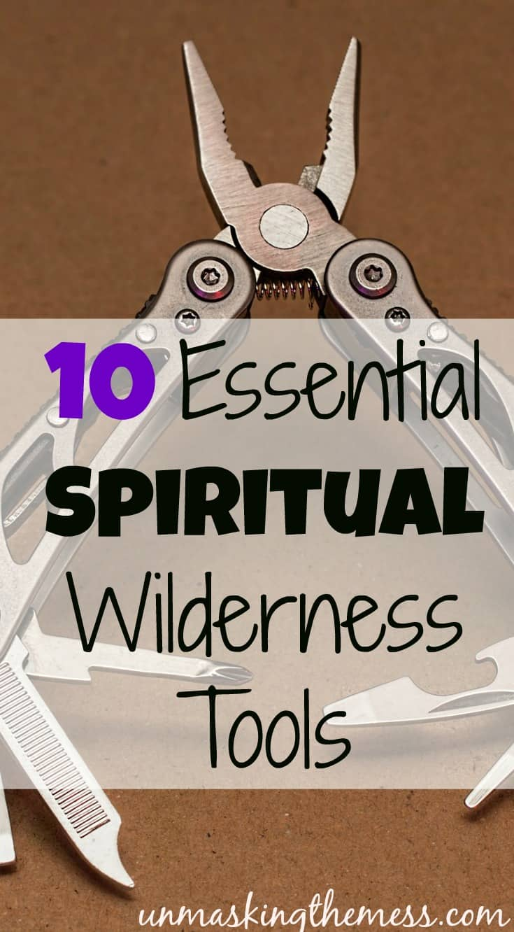 Ten Essential Spiritual Wilderness Tools. What tools can we use when we are stuck in the Spiritual Wilderness?