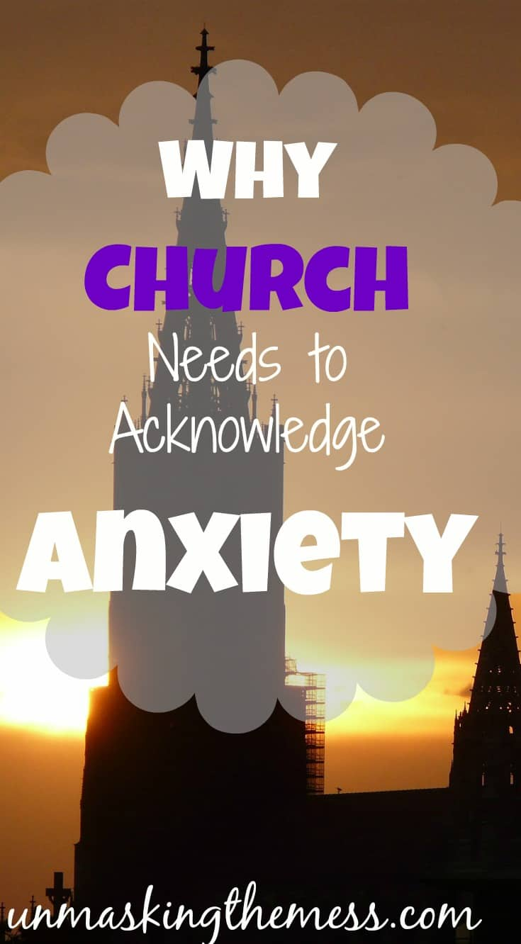 Why Church Needs to Acknowledge Anxiety. Satan can hurt the church if he can take out the members and keep them in isolation.