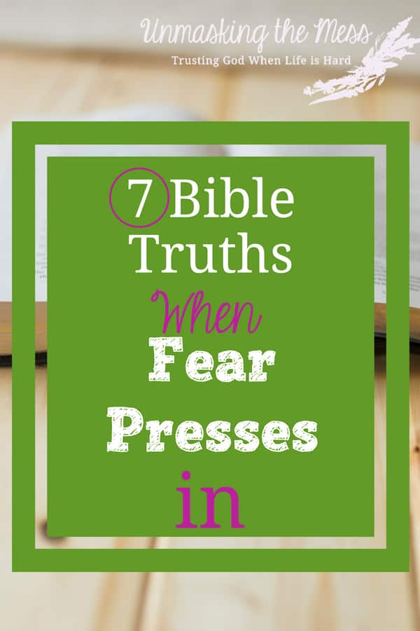 The Best Bible Verses for Courage When Fear Presses In. Facing fear of the unknown or death. How to conquer fear and anxiety using Bible verses, Scripture and God. #fear #overcomingfear #bibleversesaboutfear #scripture #anxiety