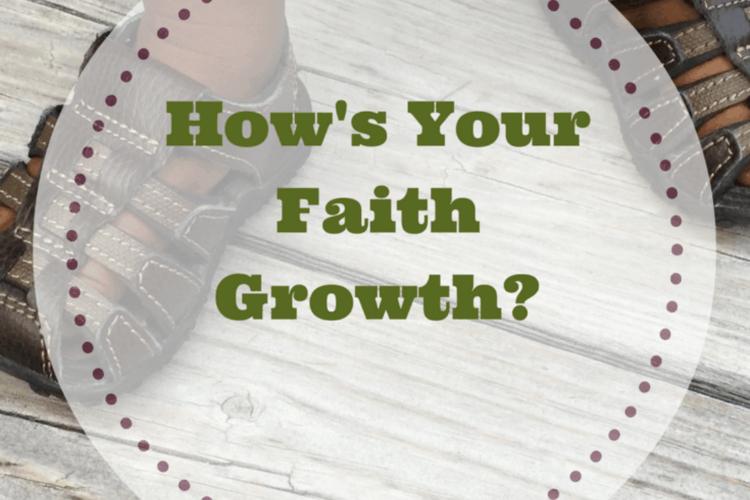 How's Your Faith Growth?