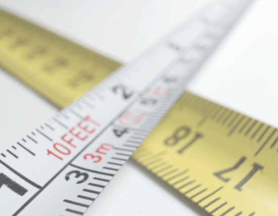 Measuring is Good for Projects, Not People. When we compare, we are only seeing what's on the outside, not the inside. Measuring ourselves limits are faith because God made each of us unique