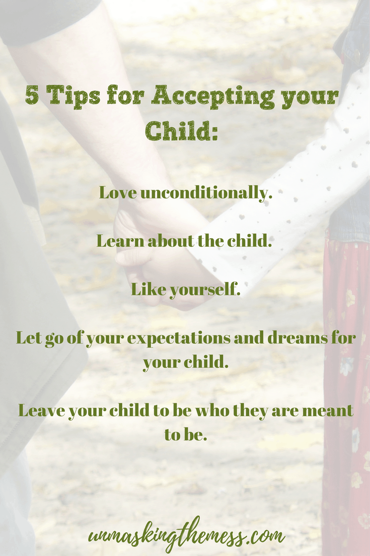 5 Ways to Connect More Genuinely with Your Awesome Offspring. Tips and truths for parents to have a greater relationship for life with kids. Children need acceptance. Mom's need a different perspective to help accept the differences in their sons and daughters.