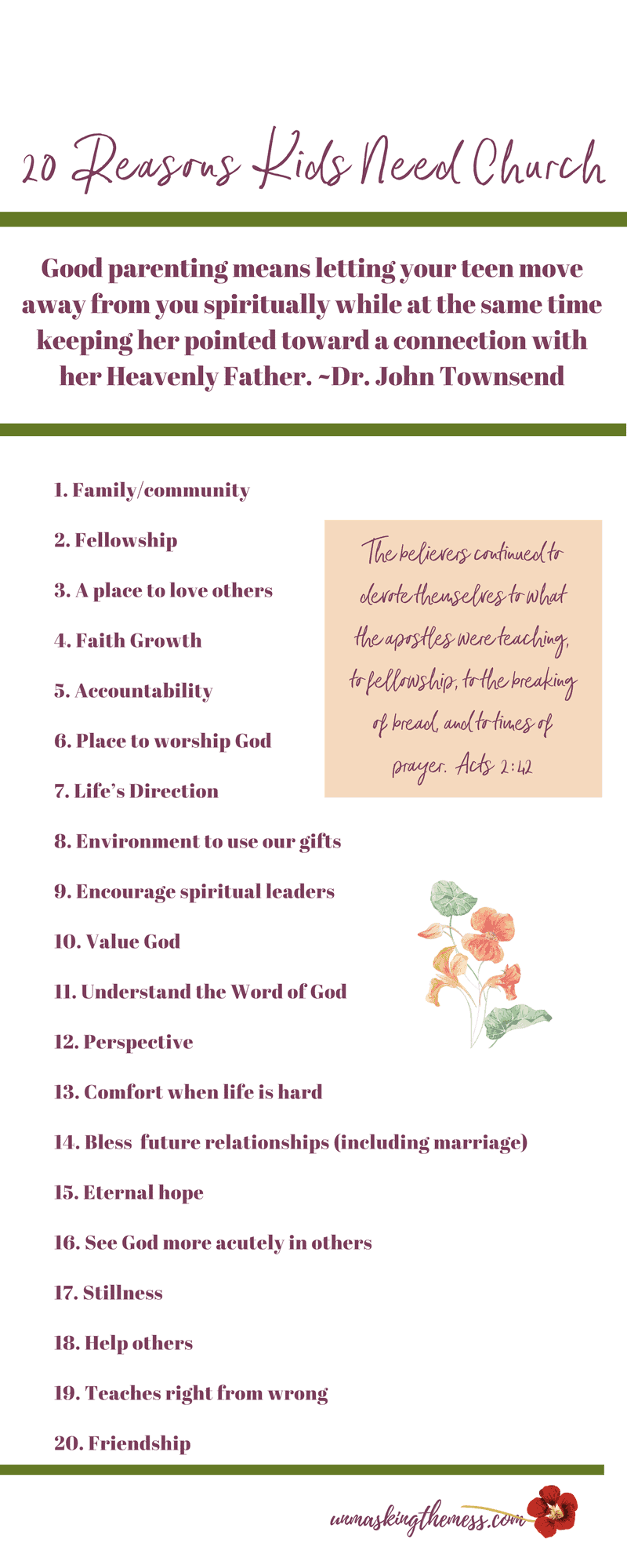 20 Reasons Church is the Best Environment for Kids.God urges us to find a church because we can't grow in faith in isolation. The ministry to children should be church's greatest goal. #childrensministry #sundayschool #acitivites #idea