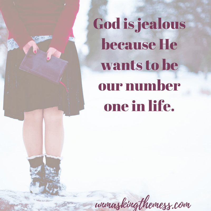 The Secret of a Confident Christian Woman. Do you struggle with jealousy? We think there isn't enough to go around or somehow we'll be forgotten. God has us in the palm of His hands. We need to trust He has us.