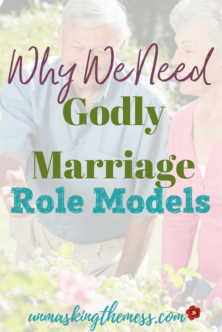 Why We Need Godly Marriage Role Models. Ideas and advice from other Christian couples. What your vows mean to God. Encouragement for intimacy, challenges and problems in love. How to use prayer and Scriptures for your marriage.