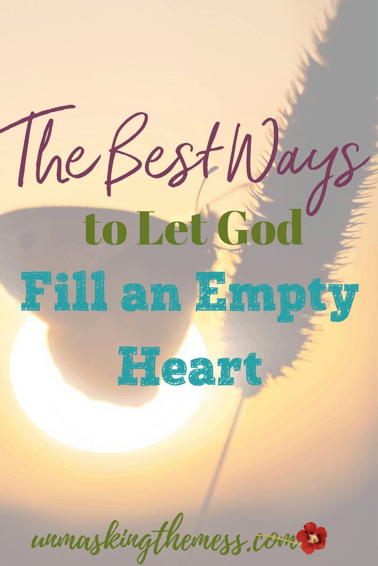 God Fill Me- 7 Best Ways to Live Fulfilled.  I'm a hoarder. I try to fill myself up with things, feelings, success because I foolishly believe it will make me happy. I need God, He can only fill me.