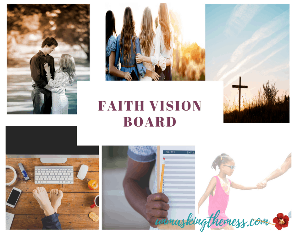 8 Great Reasons to have a Faith Vision Board. I get so caught up in what I see and then I assimilate it into the truth of what my eyes tell me. I'm suffering from tunnel vision most days, and I succumb to a wrong perspective.