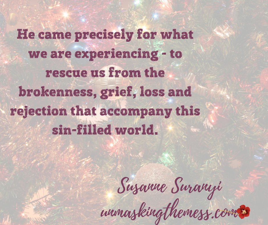 It's the Most Wonderful Time of the Year? Problems, sadness, loss, grief, sickness, everything that makes this time of the year hard. What if our Christmas isn't full of joy? Tips and passages to help you traverse the hard of this Season. #HeartBreakHoliday