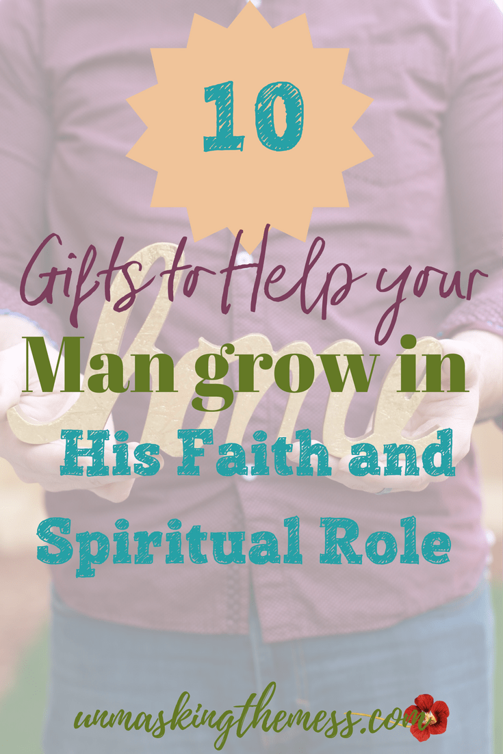 Helping Your Man Grown in His Faith and Spiritual Role. Why should we encourage our husband's spiritual leadership in the home? Every relationship is based on his faith and relationship with God. #leadership #mansrole #mensgifts #gifts #men #christiangifts