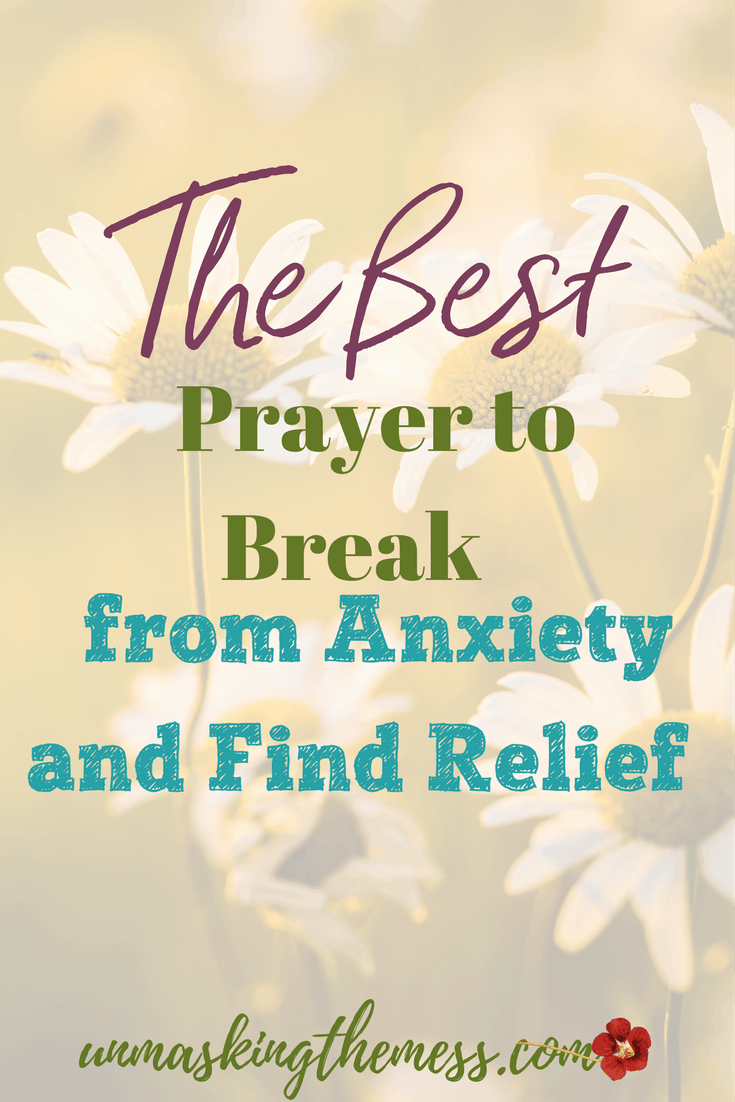 The Best Prayer to Break from Anxiety and Find Relief. Anxiety is a chain that keeps you bound. It can overcome your life. Here is a prayer for anxiety to help you break from it!