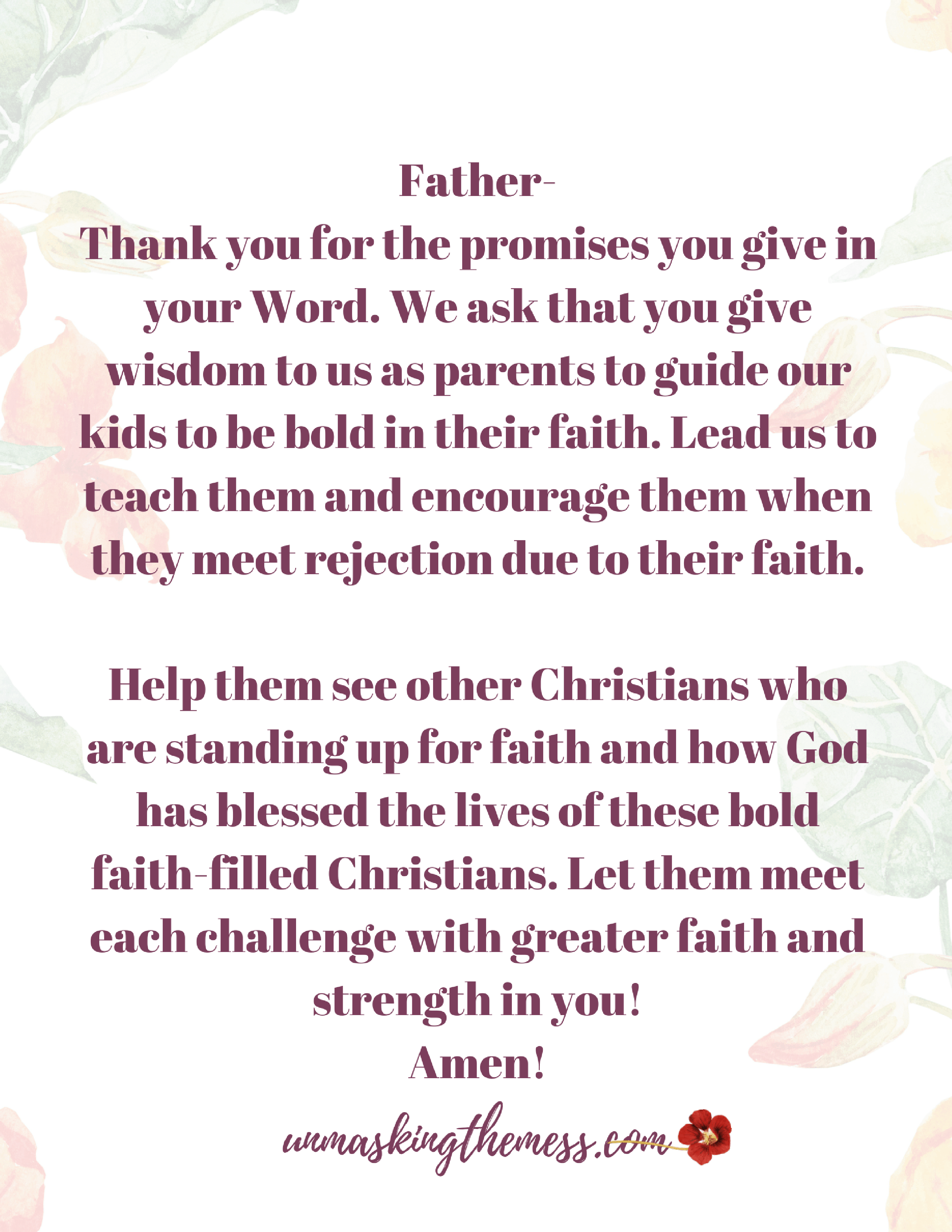 The Best Way to Help your Child Deal with Faith Rejection. The reality is, our kids will feel the effects of being Christians in a sinful world. What is the best way to help our child deal with faith rejection?#fearof #overcoming #howtohandle #dealing