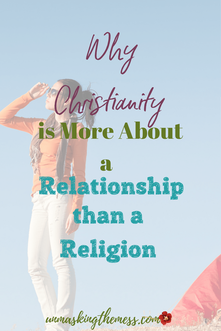 Why My Religion Didn't Help Me In the Wilderness. Religion doesn't save and religion didn't help when I was going through difficult seasons. I was missing a relationship with Jesus. #religion #relationshipwithJesus #law #grace #christian