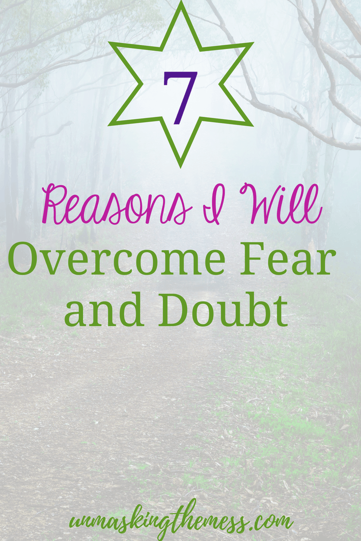 How to Overcome Fear with these 7 Tips. Fear kept me from pursuing certain things because I felt like I wasn't worthy or talented enough. Here are seven tips on how to overcome fear. #fear #overcomer #faith #Bibleverses