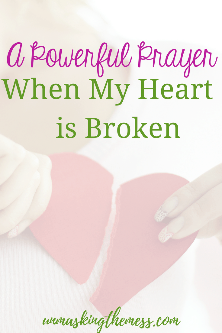 How We let God Mend our Hearts. When life throws us circumstances that wound our hearts, we might believe God doesn't love us. The truth is when my heart is broken, God will heal me. #bibleverses #gettingoverabrokenheart #relationships #facts #God