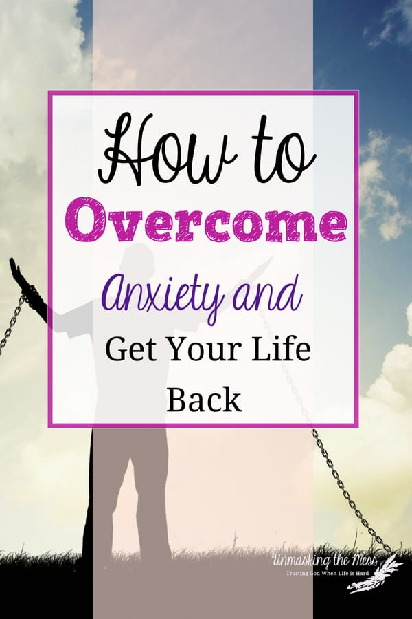 How to Overcome Anxiety and Get Your Life Back. Within our culture, many individuals are being held captive by anxiety. Want tips on how to overcome anxiety so you can live your best life? #anxiety #livingvictoriouslywithanxiety #tipsforanxiety #anxietyresources #overcomer