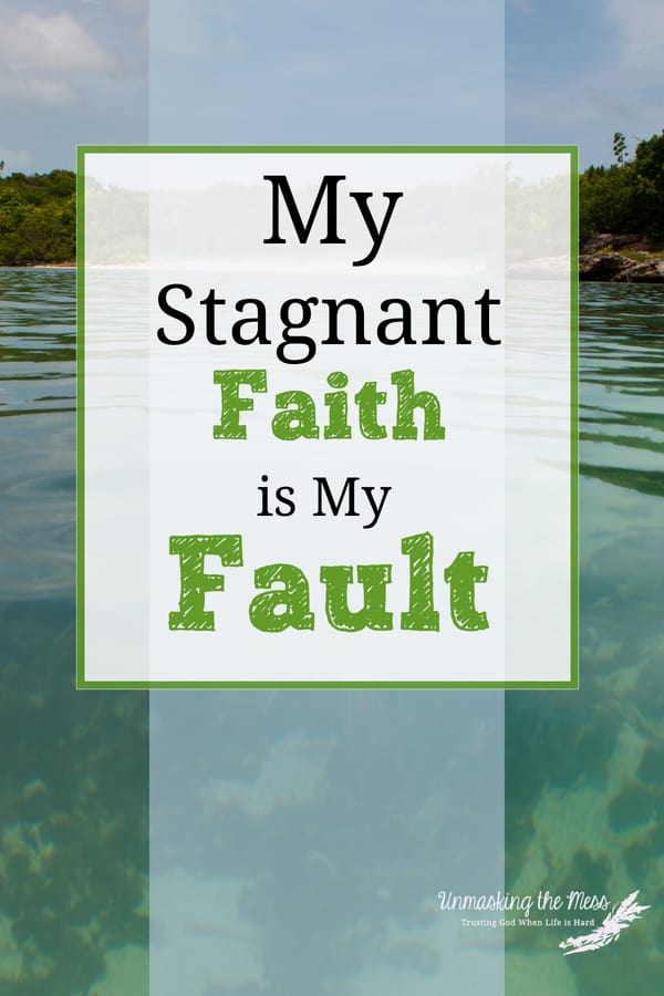 How to Change a Stagnant Faith into an Active Faith. Our faith isn't an active faith and the reason is within ourselves. God is leading us but so often we want more vivid signs and clues. Maybe we need to break some habits to hear Him more clearly. #Christianfaith #faith #God #faithinGod