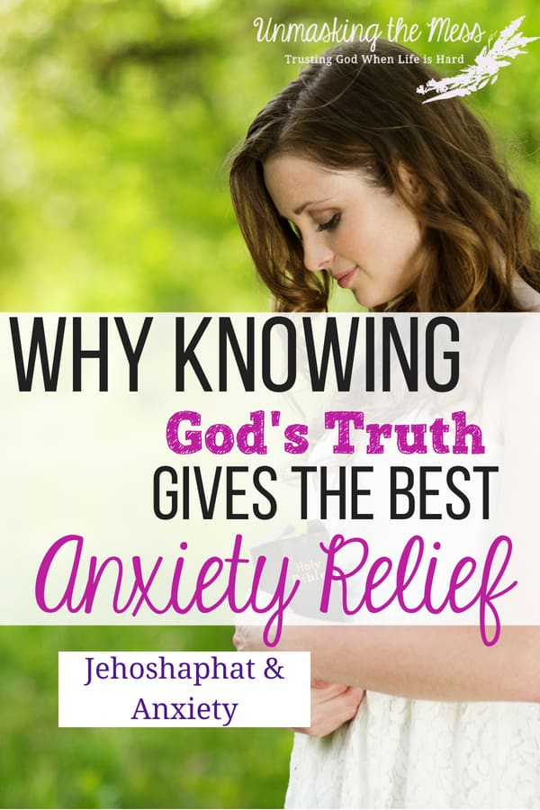 Why Knowing God's Word Gives the Best Anxiety Relief. 8 Easy Practices to Ease Your Anxiety with God's Word. Anxiety can disrupt our lives and wreck havoc in the relationships around us. By using God's Word, changing our thought patterns and replacing the lies, we can find peace from the stronghold of anxiety. #anxiety #anxietyattack #panicattack #tipsforanxiety