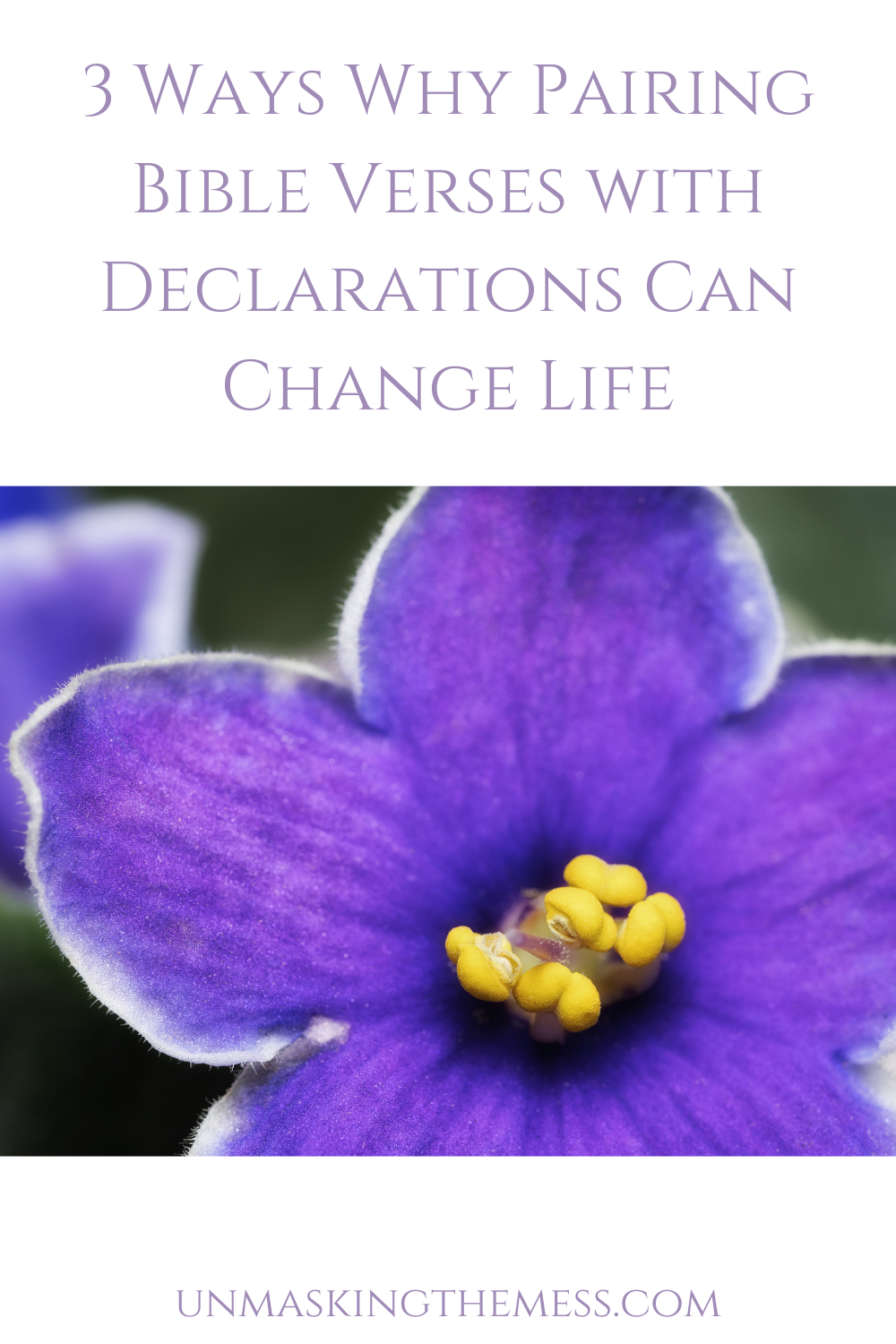 3 Ways Why Pairing Bible Verses with Affirmation Can Change Your Life. Want to change our thinking? Learn how to change your thinking and use Bible verses with declarations to change your life using these tips! #mindset #tips